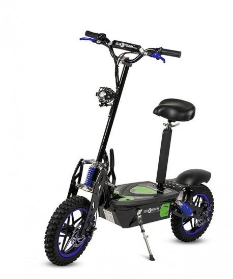 Scooter Eléctrico plegable tipo moto 2000W| Ecoxtrem |Patinete Eléctrico