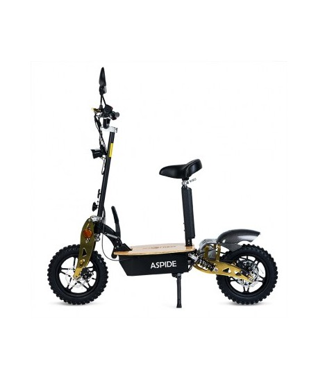 Scooter Aspide Wood -  2000W Tipo Moto, Plegable